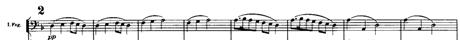 [マーラー交響曲第1番 第3楽章 練習番号3]