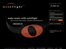 [Noteflight top page]