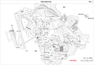 [事業計画地案内図]