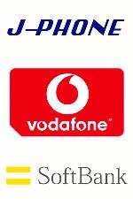 [J-PHONE,vodafone, Softbank]
