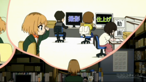 SHIROBAKO (ニコニコ生放送より) 制作進行の仕事