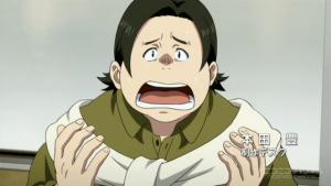 SHIROBAKO (ニコニコ生放送より) デスク本田「万策尽きたー!」