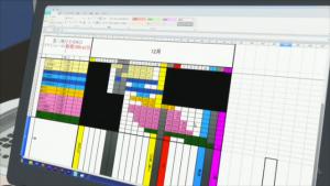 SHIROBAKO (ニコニコ生放送より) 工程表