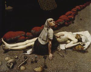 ガッレン=カッレラ作「レンミンカイネンの母親」