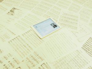 アルフレッド・リードの記事とヒネモス第11回定期演奏会の原曲の譜面
