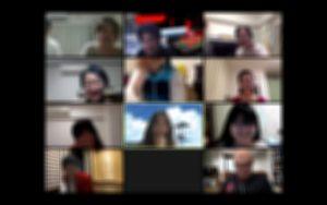 Zoom飲み会 スクリーンショット(20200429)