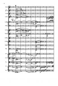 R.シュトラウス「イタリアから」スコア54ページ(第2楽章)