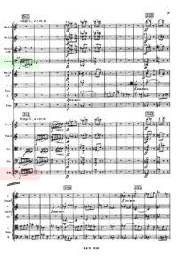 バルトーク / 管弦楽のための協奏曲 スコア 第1楽章