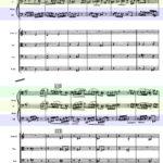 バルトーク / 管弦楽のための協奏曲 スコア 第2楽章 再現部-2