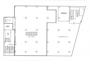 諸星ビル 2階図面